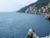 The cliff in Portovenere, Italy — 图库照片