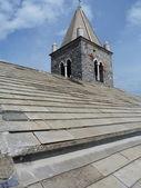 Italy, Portovenere, detail of the church of San Pietro — Foto de Stock