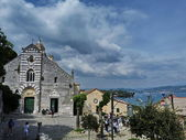 Itálie, portovenere, svatyně madony bianca — Stock fotografie