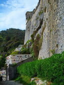 Portovenere cemetery, Liguria, Italy — Stock Photo