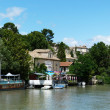 Stock Photo: Rhone at Avignon
