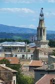 View of downtown from the Palace of the Popes Avignon, France — Stockfoto
