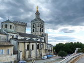 Papal Palace in Avignon, France — Stock Photo
