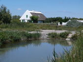 Typical house in Camargue, France — Foto de Stock