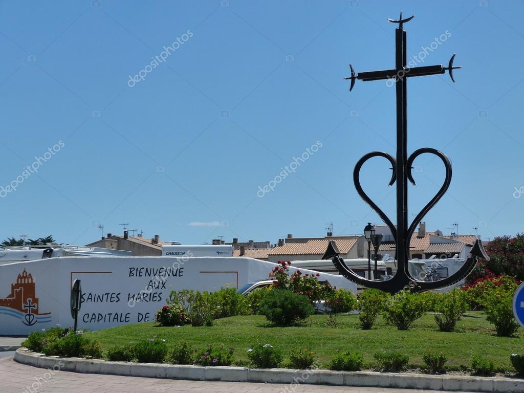 la croix de camargue saintes maries de la mer france photographie sansa55 40504155. Black Bedroom Furniture Sets. Home Design Ideas