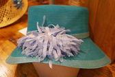 Florentine straw hat, Italy — Stock Photo