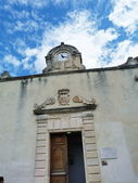 A church in the village of Baux, Provence, France — Stock Photo