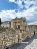 Ancient ruins in the village of Baux, Provence, France — Foto de Stock