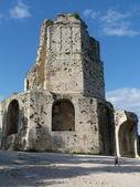 A antiga torre tour magne em nimes, frança — Foto Stock