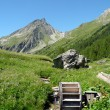 Small mill in the French Alps — Stock Photo #46728661