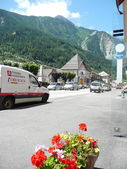 Street of Modane, France — Stock Photo