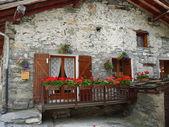 Village of Bonneval, French Savoy — Stock Photo