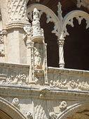 Cloister of Jeronimos Monastery, Lisbon, Portugal — Stock Photo