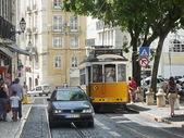 Tram in Lisbon, Portugal — Stock Photo