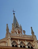 Facade of Sacred Heart church, Malaga, Spain — Stock Photo