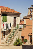 Daily life in the small town of Poggio, Elba Island - Tuscany — Stock Photo