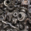 Old machine parts background — Photo
