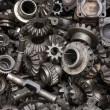 Old machine parts background — Stockfoto