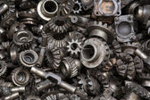 Old machine parts background — Stock Photo