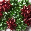Bows background for christmas — Stock Photo