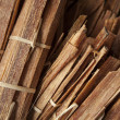 Tinder wood for sell in thai market — Stock Photo