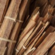 Tinder wood for sell in thai market — Stock Photo #35635917