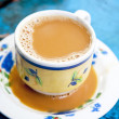 Burmese milk tea — Stock Photo