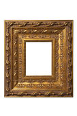 Square art picture frame — Stock Photo