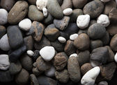River rocks background — Stock Photo