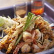Stock Photo: Crispy fried papaypad thai