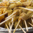 Raw meat satay prepare for grill — Stock Photo #37654119