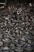 Old machine parts — Stockfoto