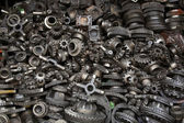 Old machine parts — Stock Photo