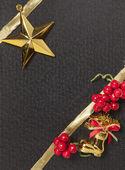 Fondo de ornamento para evento de navidad — Foto de Stock