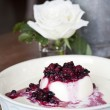 Mixed berries panacotta — Stock Photo #40497809