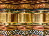 Sztuka i dekoracji w tajlandii świątyni — Zdjęcie stockowe