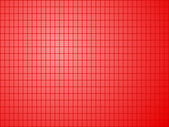 Red background with quadrilateral pattern — Stock Vector