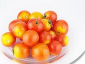 Tomato isolated on white — Stock Photo