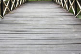 Wooden walkways — Stock Photo