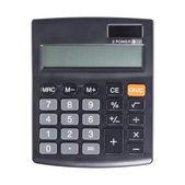Calcolatrice su sfondo bianco — Foto Stock