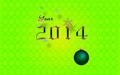 Year 2014 — Стоковое фото