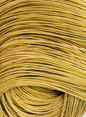 Close up Gold braid — Stock Photo
