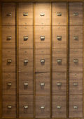 Lockers in changing room — Stock Photo