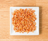 Dried shrimp — Stock Photo