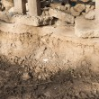 Soil and Concrete cracking — Stock Photo