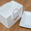 Styrofoam storage box — Photo