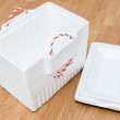 Styrofoam storage box — Stock Photo