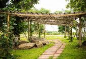 Trädgård dekoration — Stockfoto