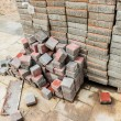Stack of Cement block — Stock Photo #32448665