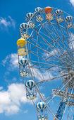 Vintage Retro Ferris Wheel — Stock Photo